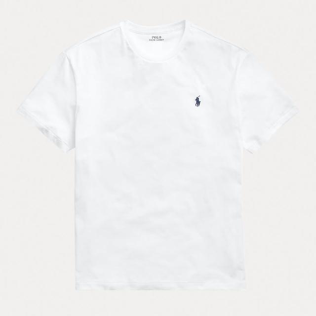 【RALPH LAUREN】經典小LOGO素T(4色可選)